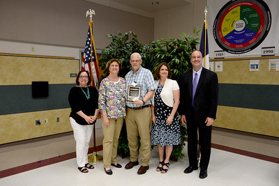 "Timothy Egle, Wiley Middle School Math teacher, 36 years in education and 18 years in LISD  Memorable moment: ""I have had the pleasure of working with many colleagues who have been excellent educators and friends. It will be them that I will miss the most."""