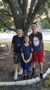 Anderson, Jogan and Ella | 9th, 5th and 3rd | Vista Ridge High School and Cox Elementary School