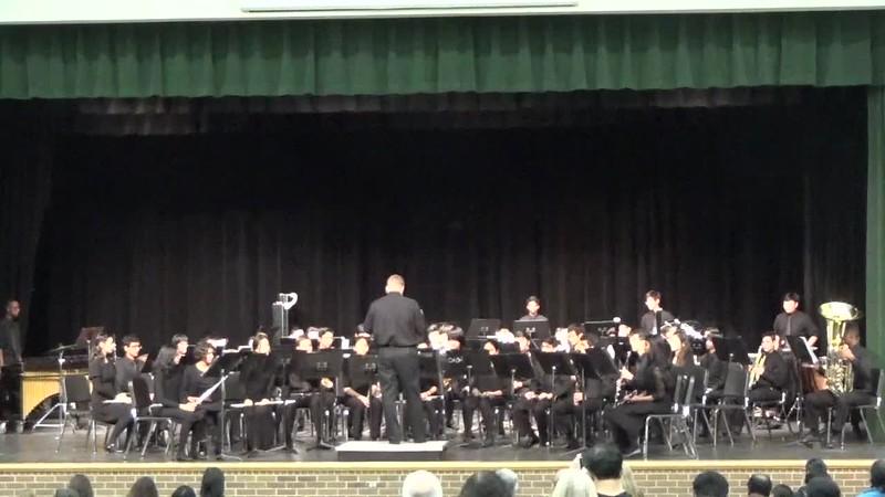 Symphonic Band at 2018 Fall Concert