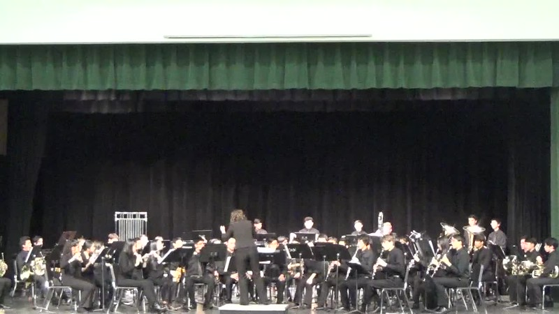 Wind Ensemble at 2018 Fall Concert (Enigma)