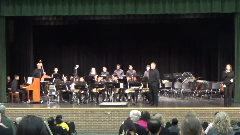 Jazz Band at 2018 Fall Concert