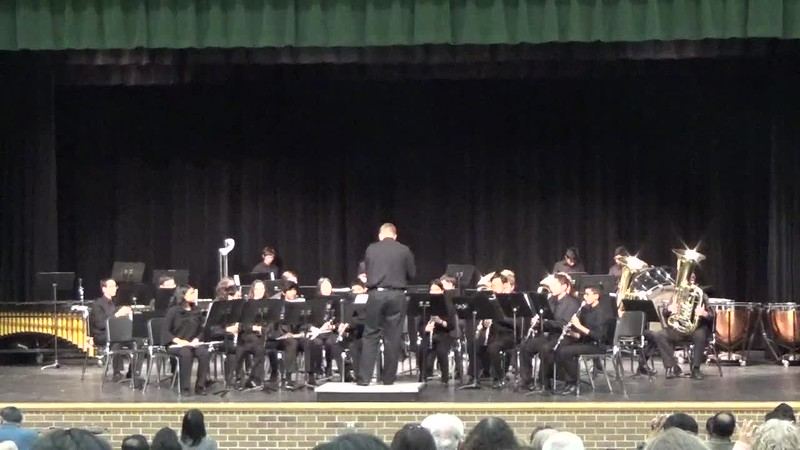 Concert 2 Band at 2018 Fall Concert