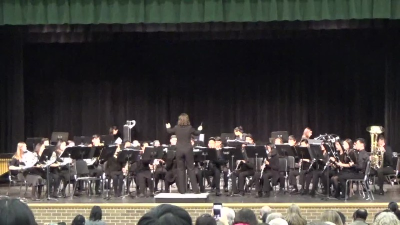 Concert 1 Band (Chorale) at 2018 Fall Concert