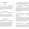 Program for Masterworks Concert