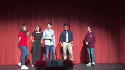 8th Grade Semana de Puerto Rico Presentation