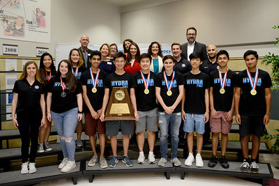 Vandegrift High School's ViperBots Hydra robotics team, recognized for being part of the winning alliance in the UIL FIRST Tech Challenge 5A/6A State Championship and for advancing to the FIRST Robotics World competition in the FTC division.