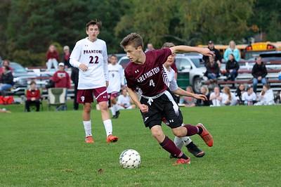 AMHS Boys Varsity Soccer vs Proctor photos by Gary Baker