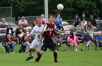 AMHS Boys Varsity Soccer vs Windsor I photos by Gary Baker