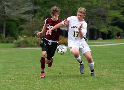 AMHS Boys Varsity Soccer vs Windsor II photos by Gary Baker