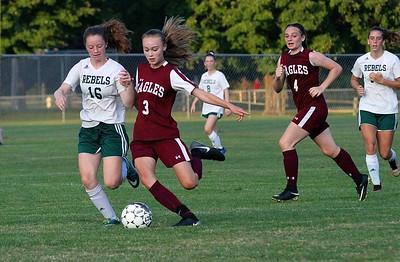 AMHS Girls Varsity Soccer vs L & G photos by Gary Baker