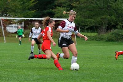 AMHS Girls Varsity Soccer vs LTS I photos by Gary Baker