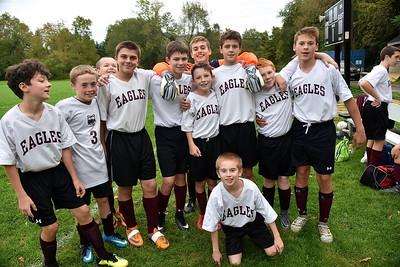 AMHS M.S. Boys Soccer Put On Their Game Faces photos by Gary Baker