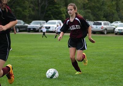 AMHS M.S. Girls Soccer vs LTS I photos by Gary Baker
