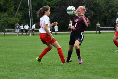 AMHS M.S. Girls Soccer vs LTS II photos by Gary Baker