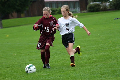 AMHS M.S. Girls Soccer vs Proctor photos by Gary Baker