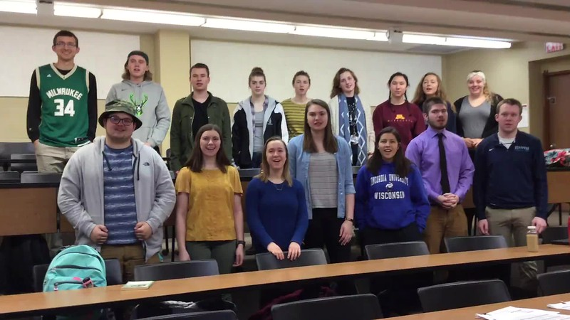 Prof Hanneman's Human Growth and Development Class