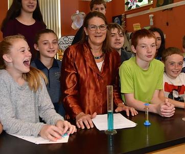 Congratulations Mrs Karen Schroeder…2018 Vermont  Academy of Science and Engineering High School Teacher of the Year photos by Gary Baker