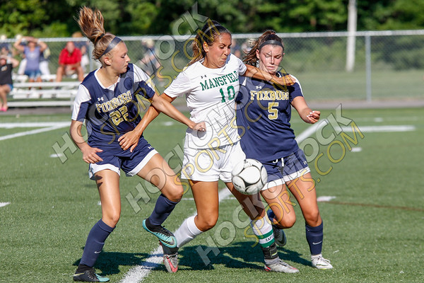 Foxboro-Mansfield Girls Soccer - 09-05-18