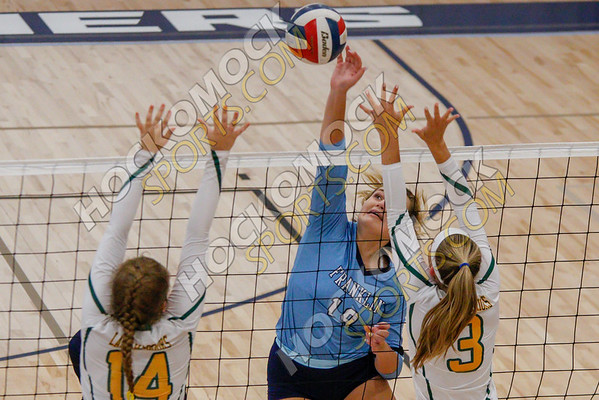 Franklin-King Philip Volleyball - 09-12-18