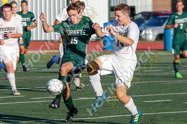 Mansfield-Foxboro Boys Soccer - 09-05-18