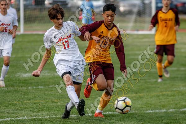 Sharon-North Attleboro Boys Soccer - 09-17-18