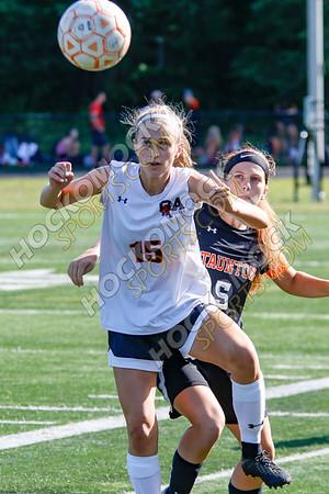 Taunton-Oliver Ames Girls Soccer - 09-11-18