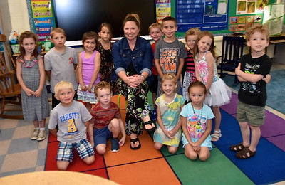 Mrs Mckeighan Kindergarten photos by Gary Baker