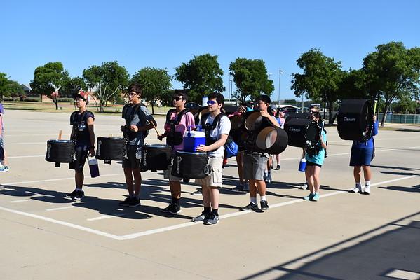 2018.06.11-15 Percussion Camp/Colorguard Camp