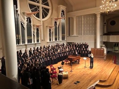 2018.10.16 - Percussion @ Jasper_Plano West Fall Choir Concert