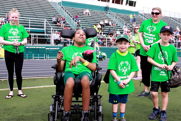 Special Olympics Area 10 Parade