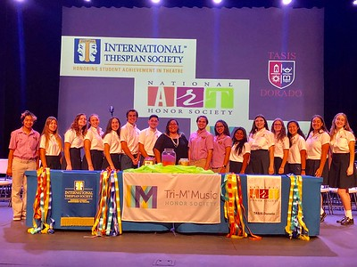 International Thespian Society Induction Ceremony 2018-2019