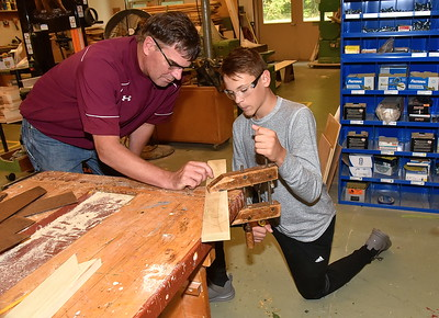 Woodworking With Mr Stewart photos by Gary Baker