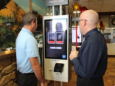 McDonalds Azle Kiosk Unveiling March 5, 2018