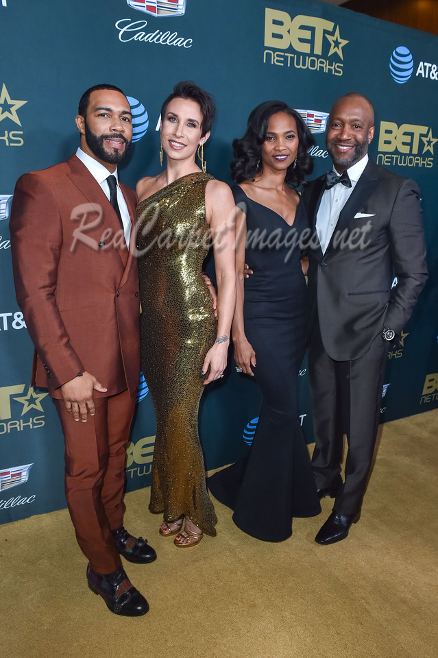 LOS ANGELES, CA - FEBRUARY 25: 2018 ABFF Honors at The Beverly Hilton on February 25, 2018 in Los Angeles, CA, USA. (Photo by Aaron J. / RedCarpetImages.net for ABFF)