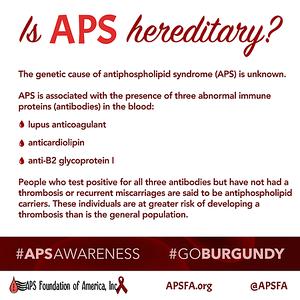 Is APS Hereditary?