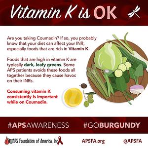 Vitamin K is OK