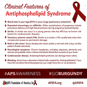 Clinical Features of Antiphospholipid Syndrome