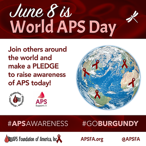 June 8th is World APS APS Day