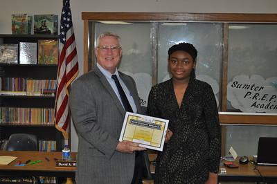 2018 -  AVID Student Speaker Amaya Jenkins (Wildwood Middle High School)