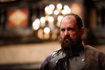 David Anthony Lewis as Bullingbrook in RICHARD II.  Photo by Lindsey Walters.