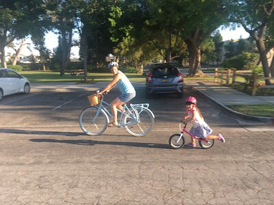 First Family Bicycle Ride, Jul 2018