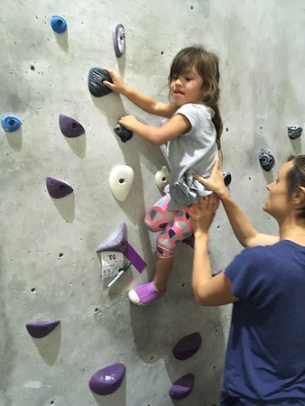 Stronghold Climbing Gym, May 2018