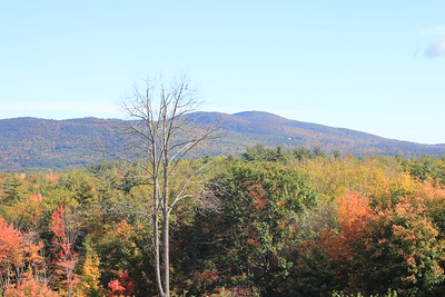 White Mountains of New Hampshire October 2018