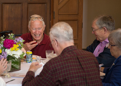 2018 Alumni Weekend Old Guard Luncheon in the Choral Room
