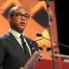 "Don Lemon, correspondent and anchor of ""CNN Tonight with Don Lemon,"" serving as the Keynote Speaker of the Opening Session during the 32nd Annual NAMIC Conference on Tuesday, Oct. 16, 2018, at the New York Marriott Marquis."