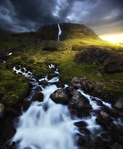 DA065,DN,Waterfall in Iceland