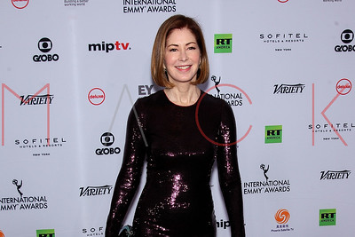 New York, NY - November 19:  Arrivals to The 46th Annual International Emmy Awards at The New York Hilton .