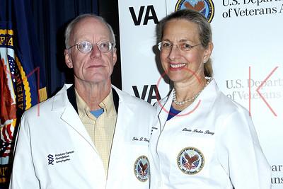 New York, NY - November 08:   The PCF ceremony honoring U.S. Veterans battling Prostate Cancer at The VA NY Harbor Health Care System.