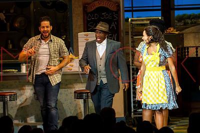 NEW YORK, NY - OCTOBER 05:  Al Roker at Al Roker's Broadway Debut Curtain Call in WAITRESS at the Brooks Atkinson Theatre.