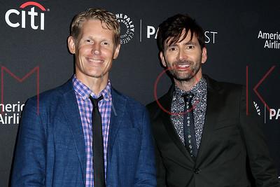NEW YORK, NY - OCTOBER 9:  David Tennant Talks Doctor Who Premiere at PaleyFest New York 2018, Paley Center for Media, New York, NY